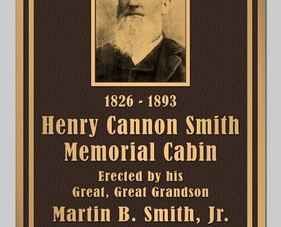 Plaque for Henry Cannon Smith